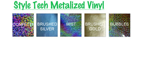 "StyleTech Metalized & Opal Adhesive Vinyl 12"" X 12"""
