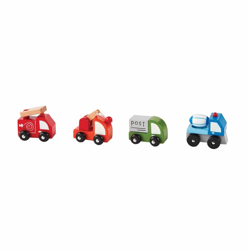 Mudpie- Transportation Wood Toys #12600149