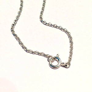 Sterling Silver Belcher Chain - Distinctly Caitlin Designs