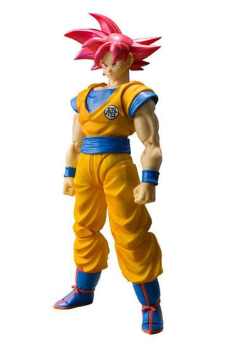 Dragon Ball - Son Goku - S.H. Figuarts SSGSS Figur - Full Combo