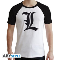 Death Note - L Symbol T-shirt - Full Combo