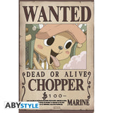 One Piece - Wanted Chopper Plakat (91.5x61cm) - Full Combo