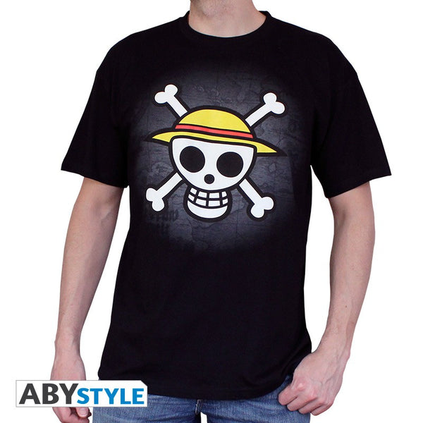 One Piece - Skull with Map T-Shirt (UDSALG) - Full Combo