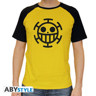 One Piece - Trafalgar Law Gul T-Shirt - Full Combo