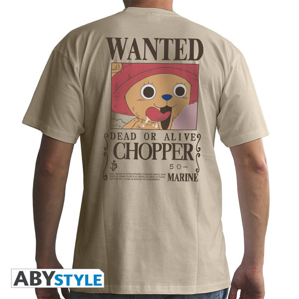 One Piece - Wanted Chopper T-Shirt - Full Combo