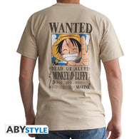 One Piece - Wanted Luffy T-Shirt - Full Combo