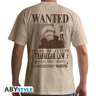 One Piece - Wanted Trafalgar Law T-shirt - Full Combo