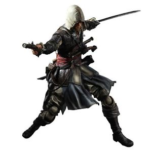 Assassin's Creed - Edward Kenway - Black Flag Play Arts Kai Figur (forudbestilling) - Full Combo
