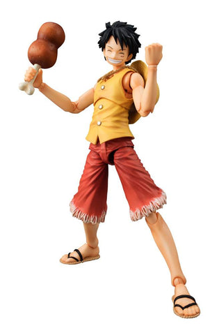 One Piece - Monkey D. Luffy - Past Blue Yellow Version Figur - Full Combo