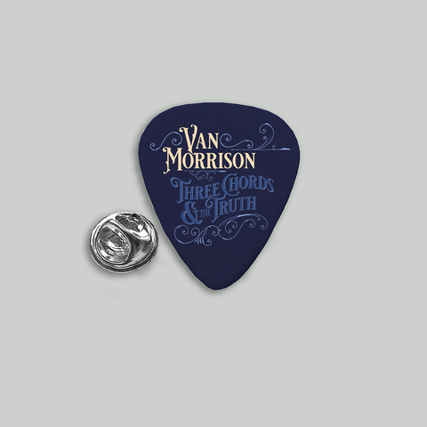 """Three Chords & The Truth"" Guitar Pick Pin + Signed Litho + Digital Album"