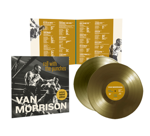 Roll With The Punches Gold Numbered Vinyl