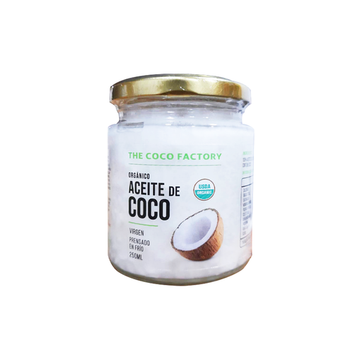 Aceite de Coco Orgánico 250ml The Coco Factory