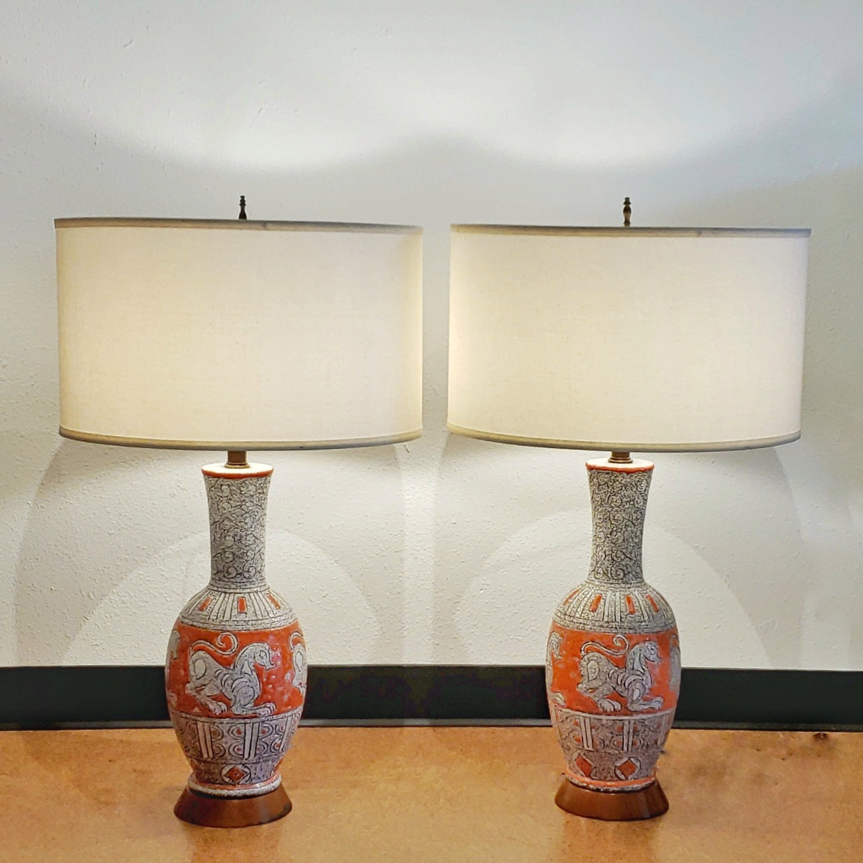 FRATELLI FANCIULLACCI TABLE LAMPS FOR ELBEE IMPORTS