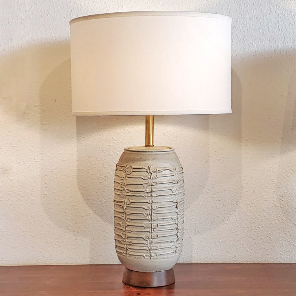 BOB KINZIE TABLE LAMPS FOR AFFILIATED CRAFTSMEN STUDIOS