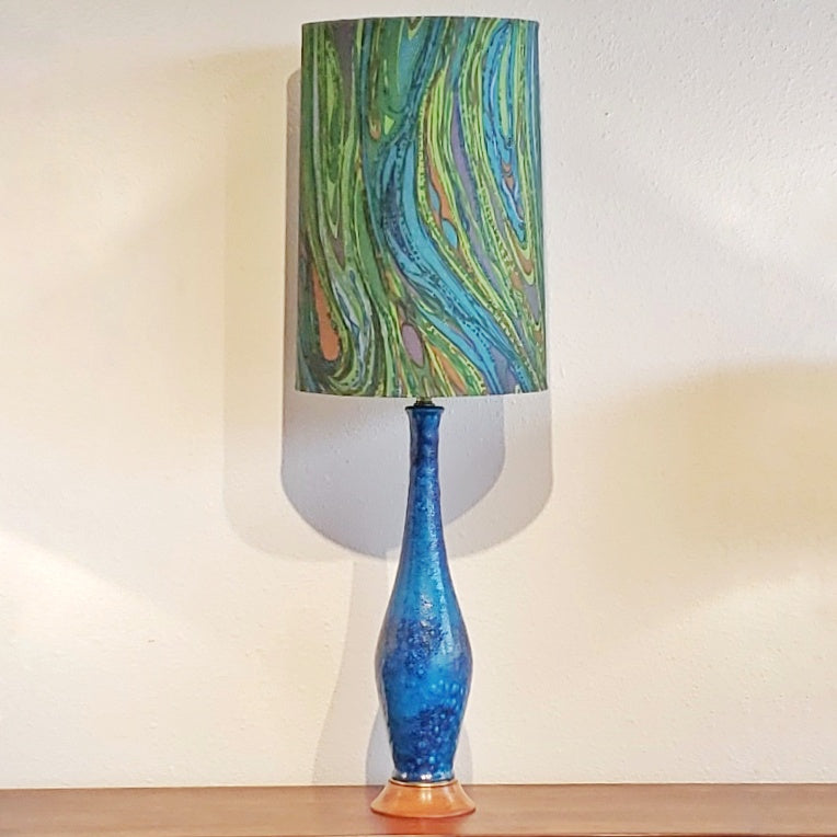 PSYCHEDELIC TABLE LAMP IN THE STYLE OF INGRID ATTERBERG FOR UPSALA-EKEBY