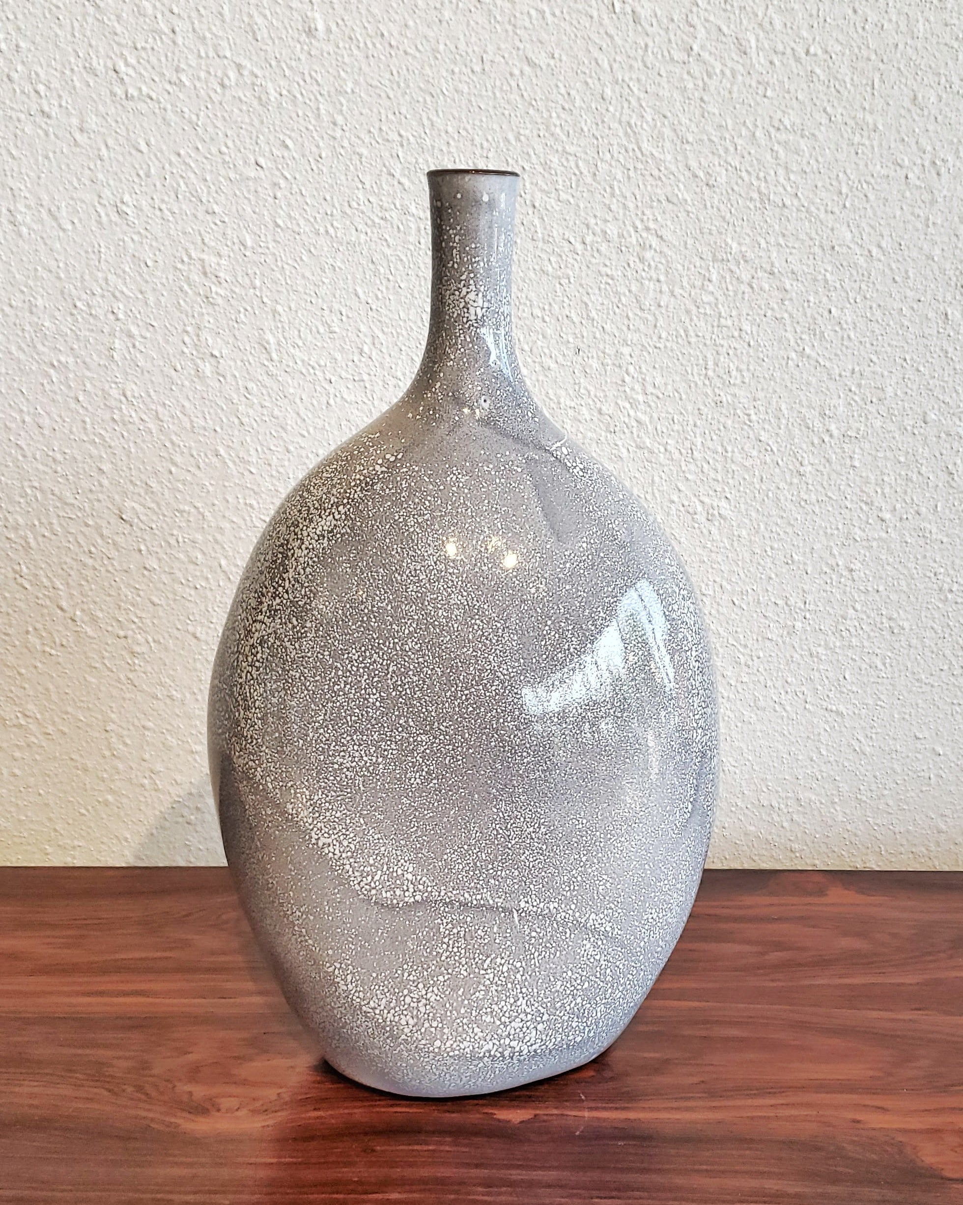 BÜCKING & BÖRNSEN STUDIO POTTERY BOTTLE VASE (31 cm)