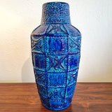 LARGE BAY KERAMIK RELIEF DECOR VASE Nr. 60/45