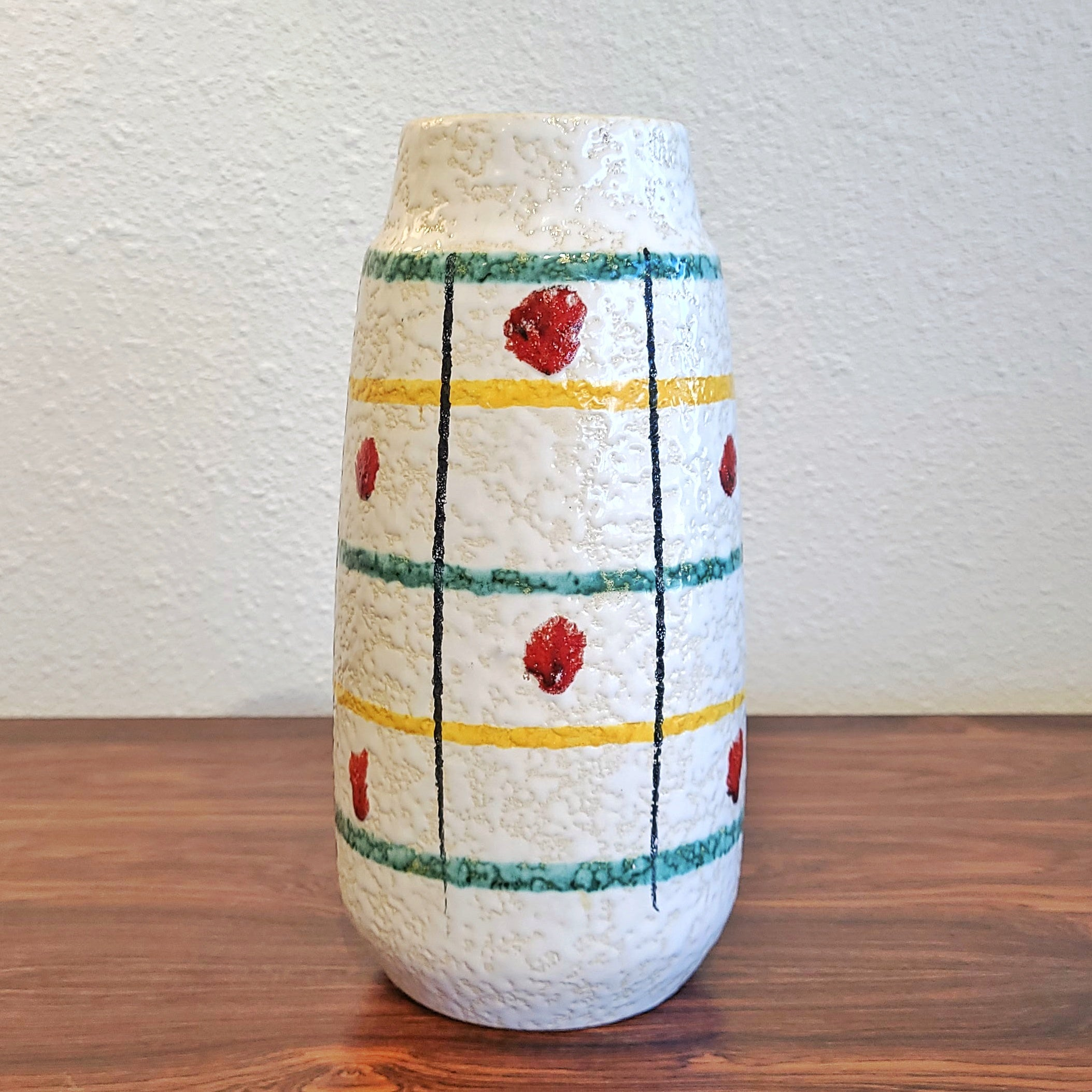 EARLY 60s SCHEURICH KERAMIK VASE Nr. 203/26