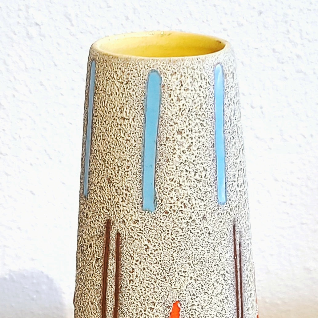 EARLY 60S SCHEURICH KERAMIK VASE Nr.539/25