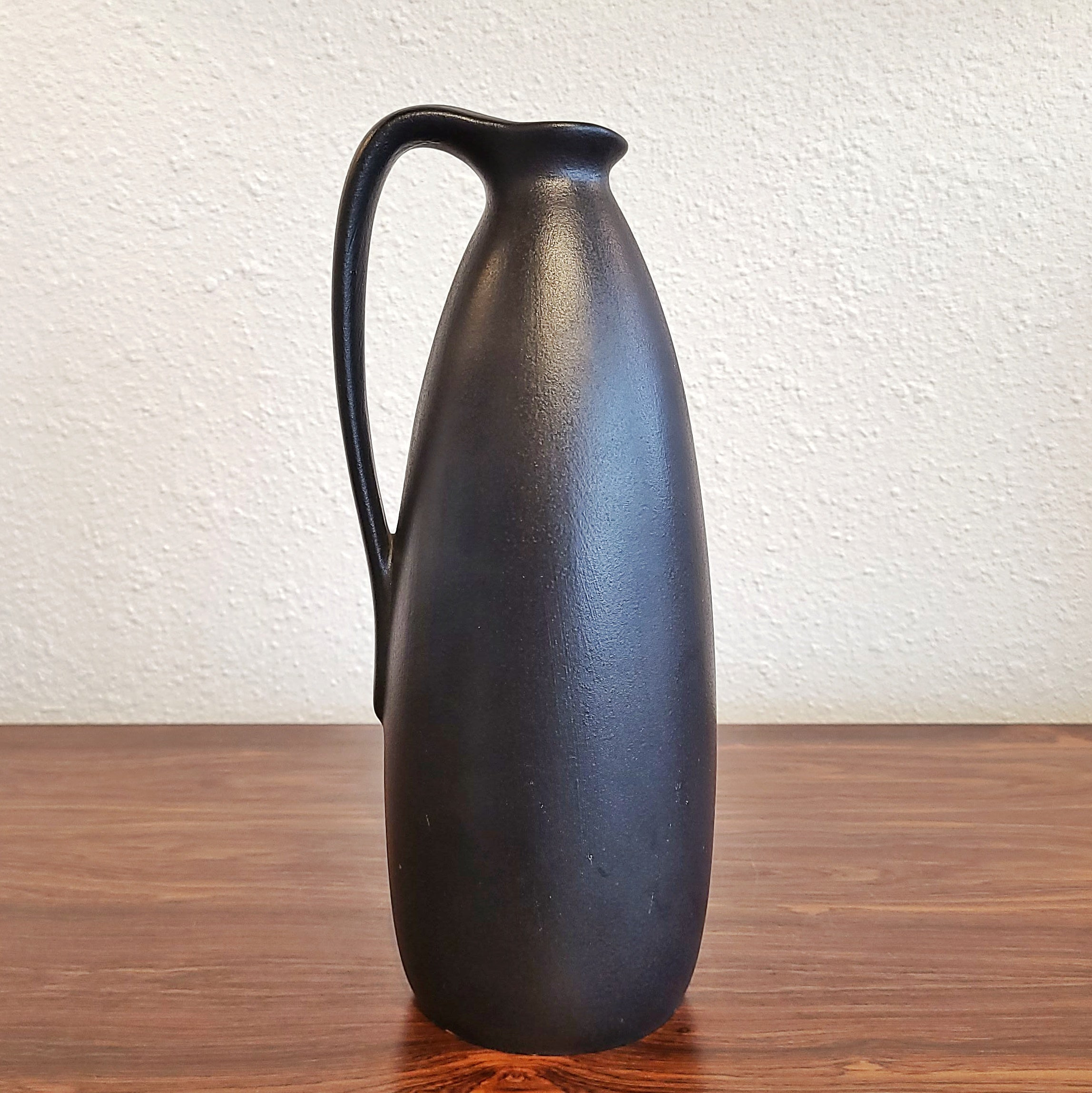 RUSCHA KERAMIK 'JAPAN' DECOR HANDLE VASE Nr. 314/2