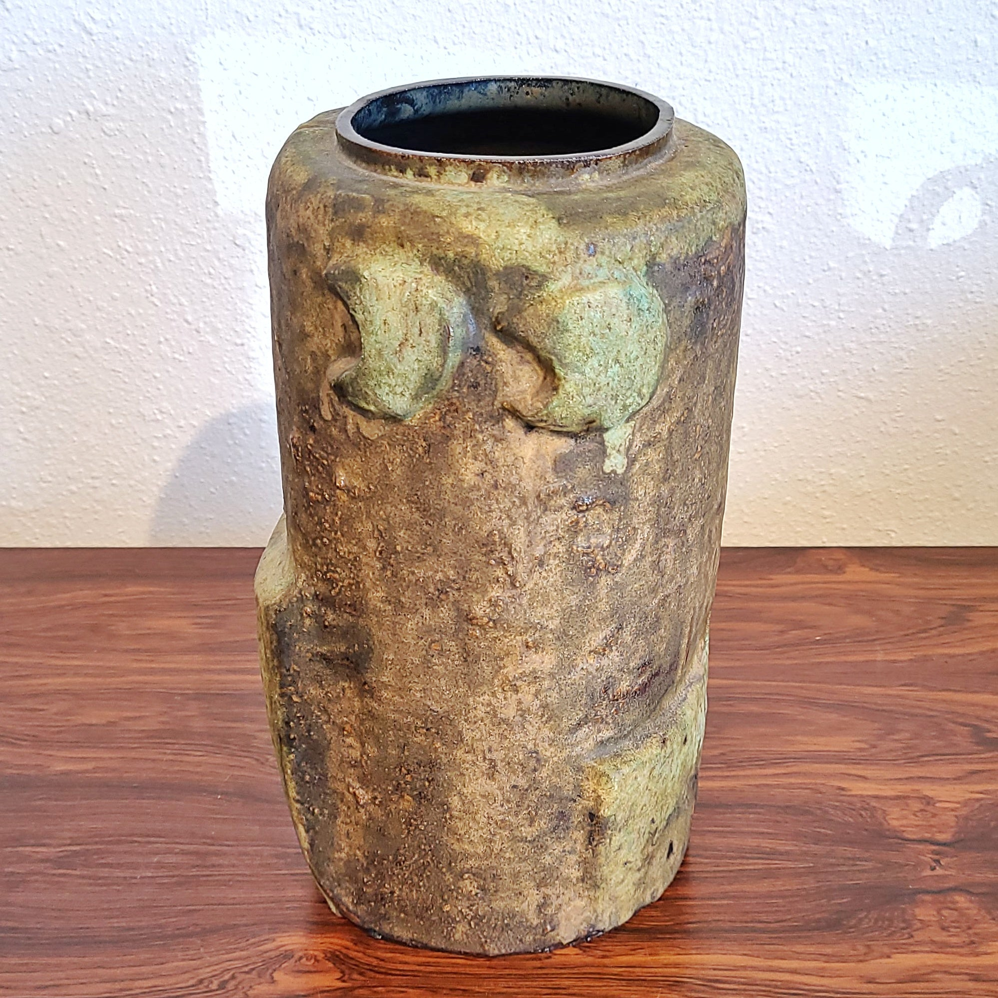 SCULPTURAL ABSTRACT VASE Nr. V38 BY H.F.SCHÄFFENACKER