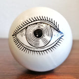 PIERO FORNASETTI POP ART EYEBALL PAPERWEIGHT