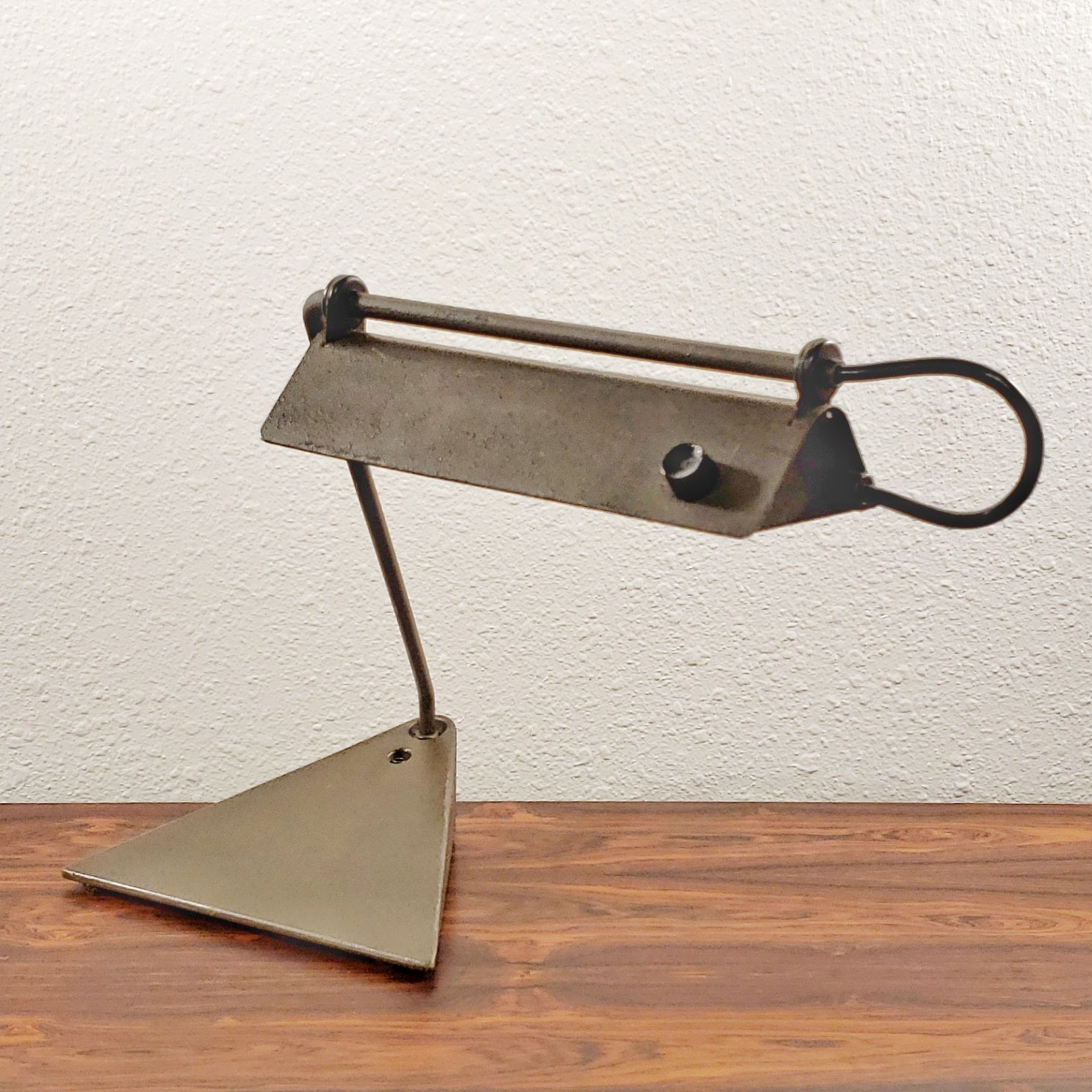 KOCH & LOWY INDUSTRIAL SWING-ARM DESK LAMP