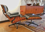 CHARLES & RAY EAMES LOUNGE CHAIR 670 WITH OTTOMAN 671 FOR HERMAN MILLER