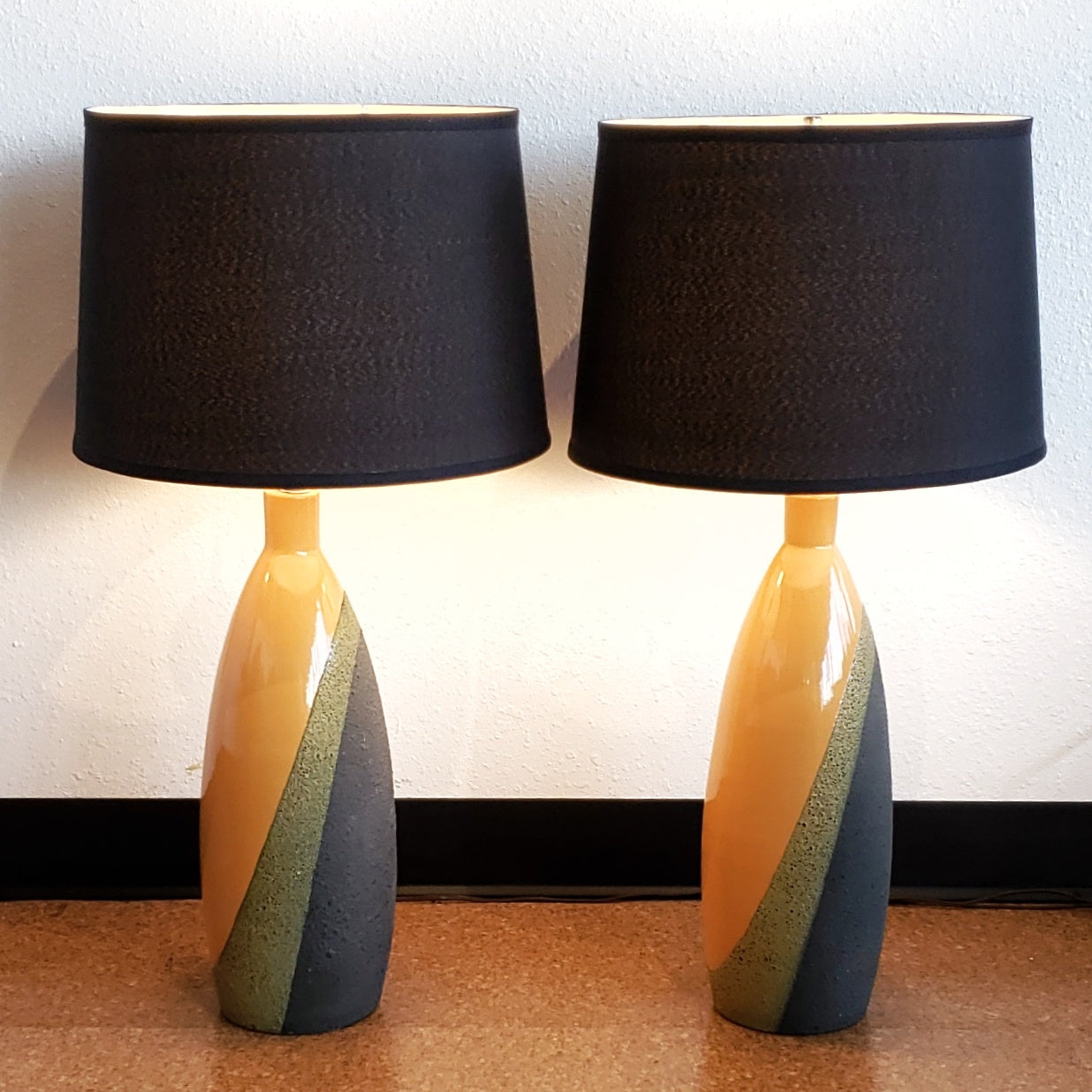 ETTORE SOTTSASS TABLE LAMPS FOR BITOSSI