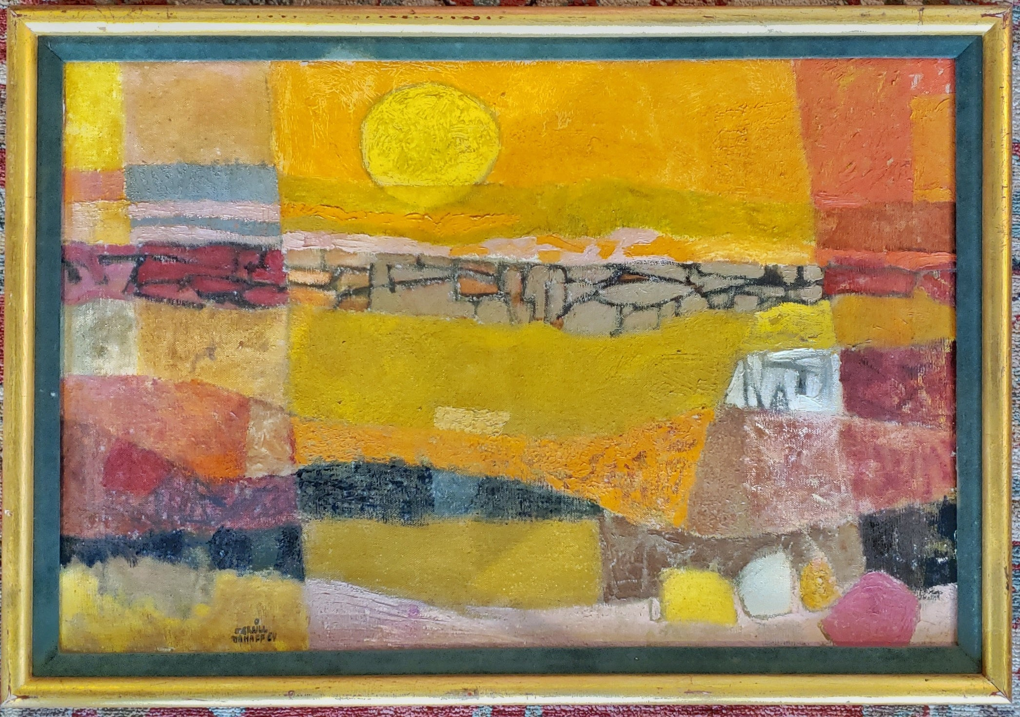 "MERRILL MAHAFFEY ""DESERT SUNSET"""