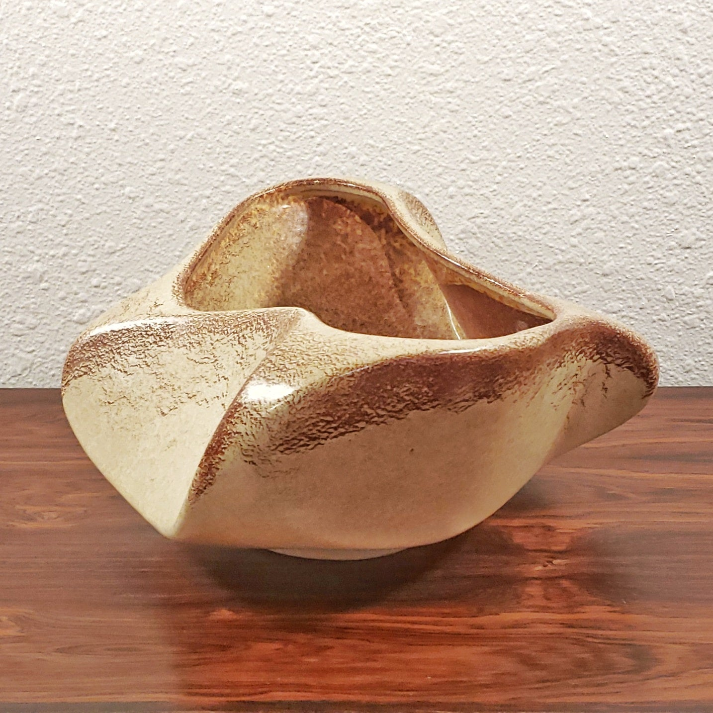 BERTONCELLO 'SCREZIATO HAVANA' CENTERPIECE BOWL
