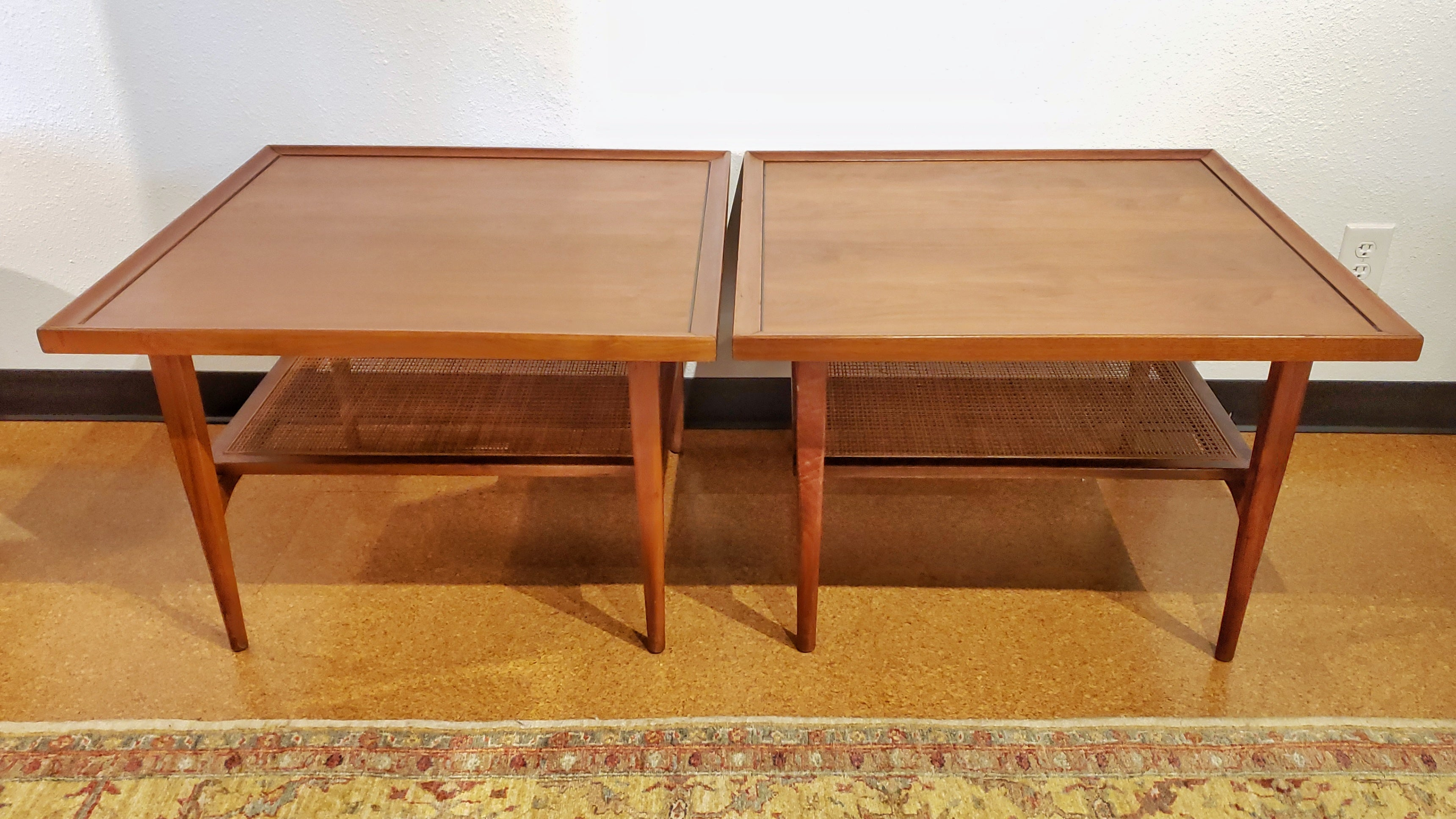 KIPP STEWART & STEWART MACDOUGALL 'DECLARATION' END TABLES FOR DREXEL