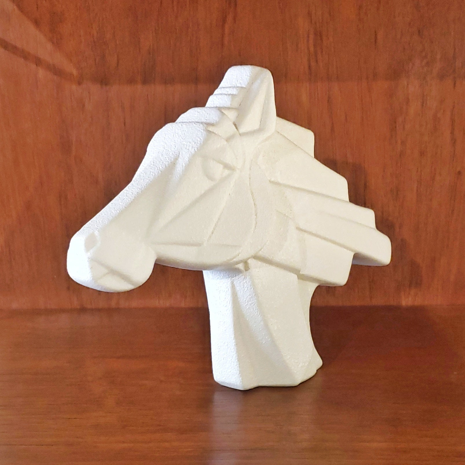 CERAMIC HORSEHEAD FIGURE