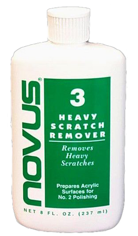 Novus Polish #3 Heavy Scratch Remover - 8oz bottle