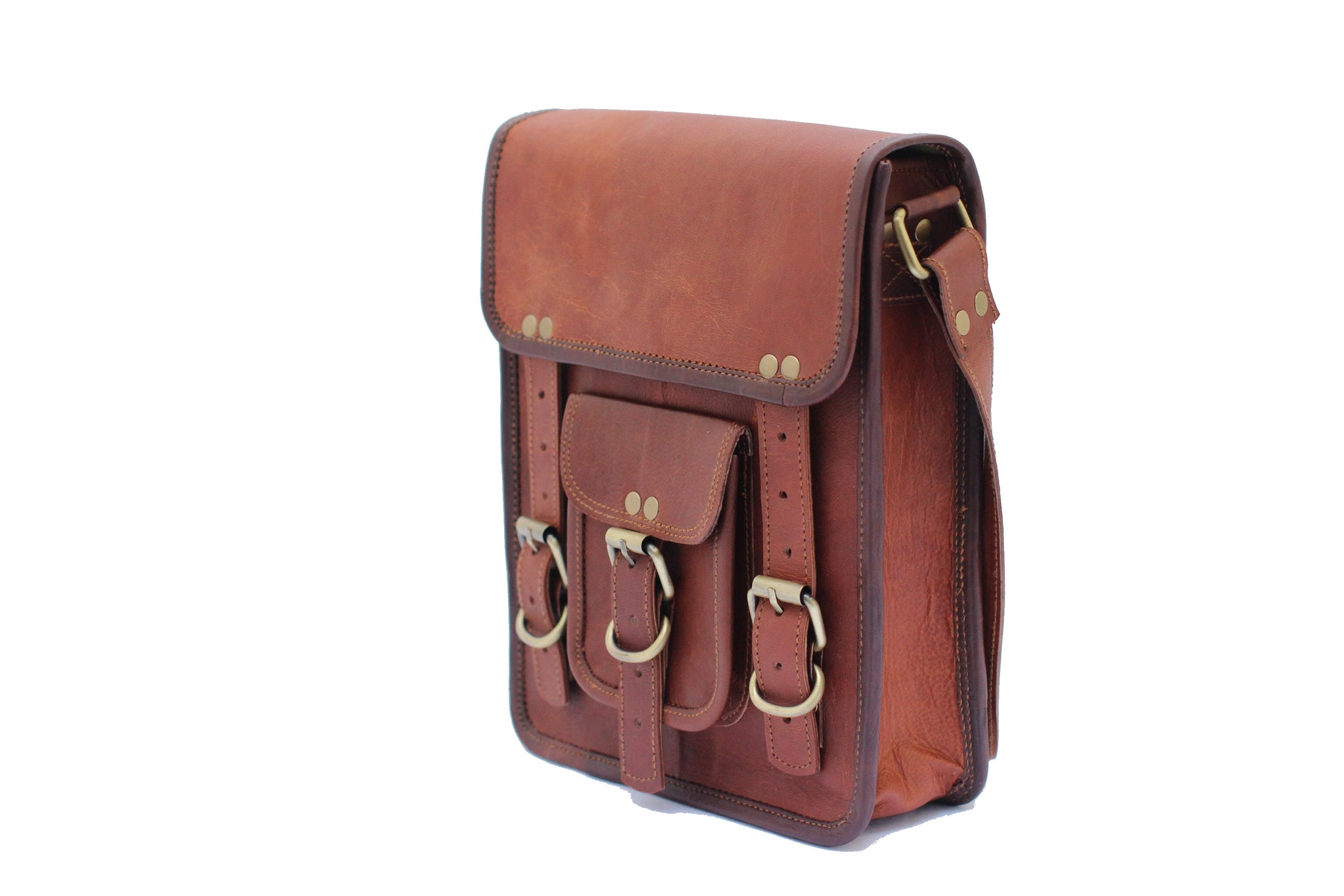 aaecee3247 ... Brave Leather Tablet Bag