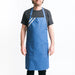 Eco friendly denim apron