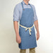 Two Pocket Blue Apron