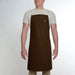 Minimalist Brown Apron