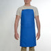 Multi Pocket Blue Crossback Apron