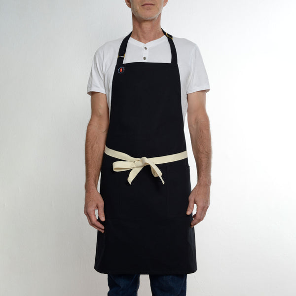 Two Pocket Black Apron