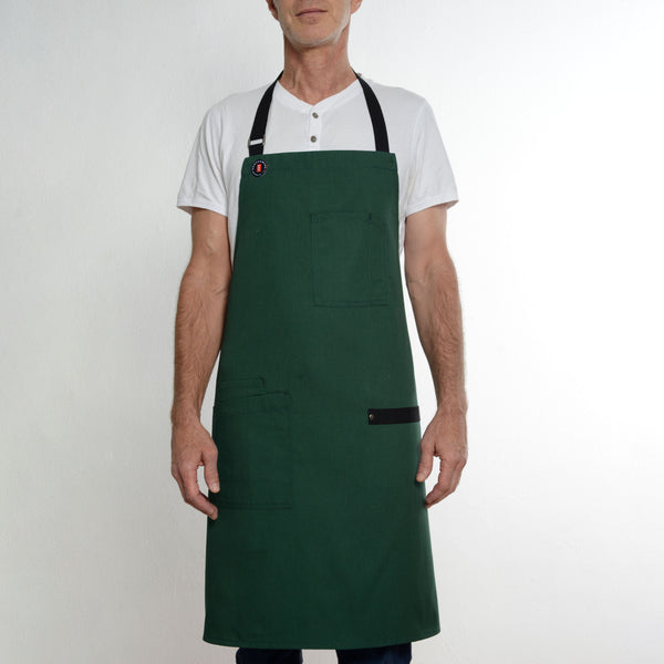 Modernist Green Apron