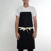 One Pocket Black Apron
