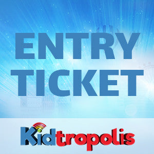 Kidtropolis Baby Entry Ticket