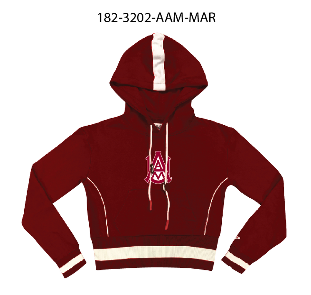 Alabama A&M University MAXINE Crop Hoodie