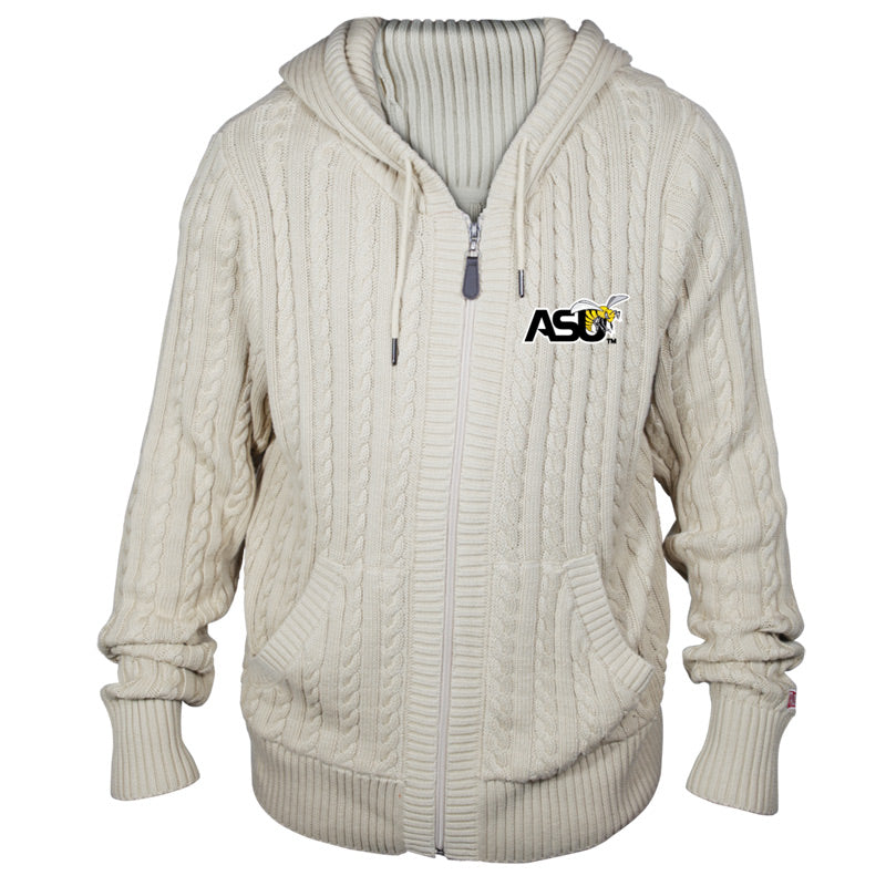 Alabama State University Kyle Hooded Sweater**ALL SALES FINAL**