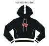 Bethune Cookman University MAXINE Crop Hoodie