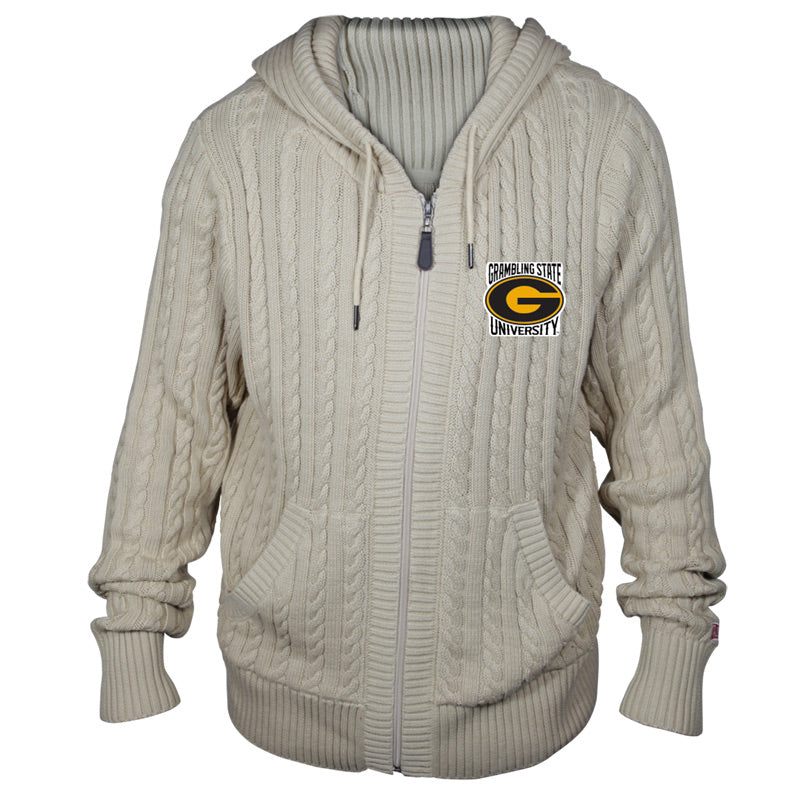 Grambling State University Kyle Hooded Sweater**ALL SALES FINAL**