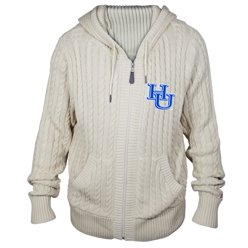 Hampton University Kyle Hooded Sweater**ALL SALES FINAL**