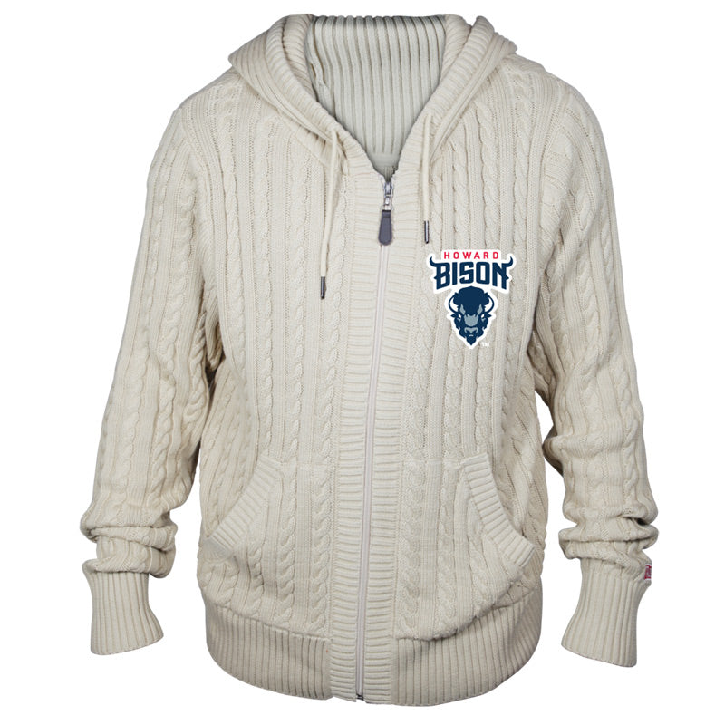 Howard University Kyle Hooded Sweater**ALL SALES FINAL**