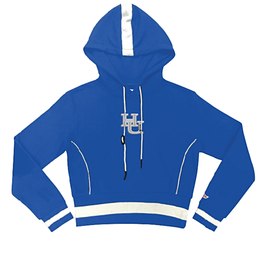 Hampton University MAXINE Crop Hoodie